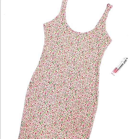 American Apparel Dresses & Skirts - American Apparel Floral Bodycon Dress